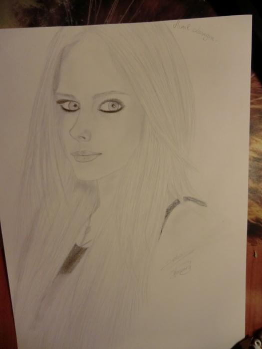 Avril Lavigne par honorine12